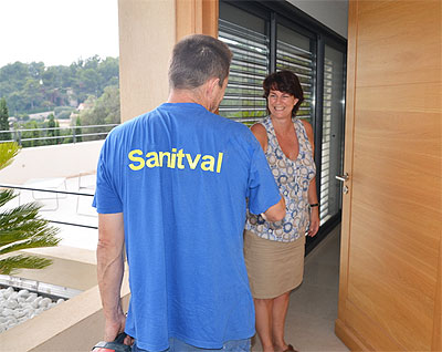 Maintenance-sanitval-med